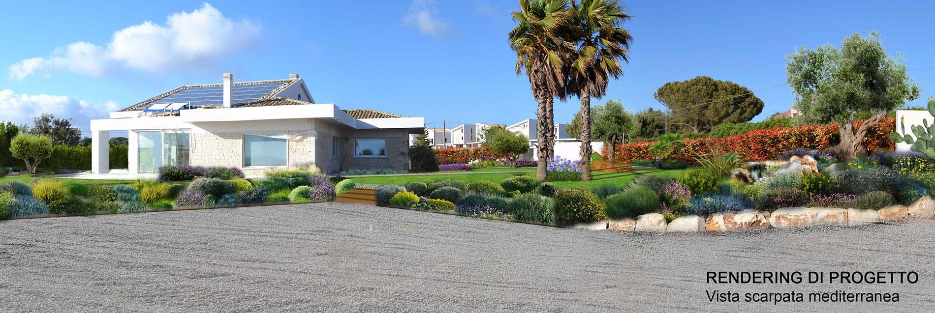 Giardino el bb architettura del paesaggio for Rendering giardino